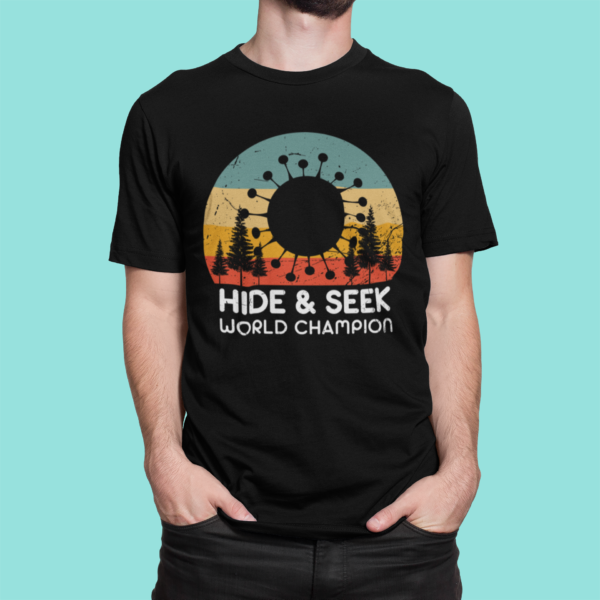COVID-19 Hide & Seek World Champion – Black