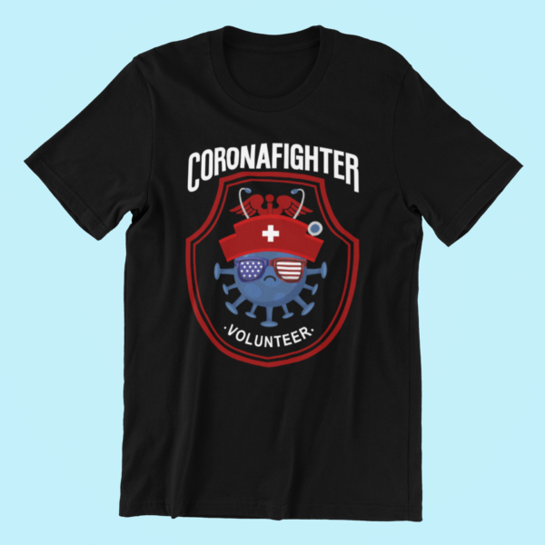 COVID-19 CORONAFIGHTER Volunteer – Black